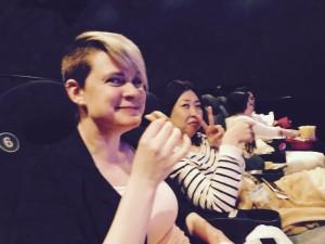 Cinema avec Annie et Yoko