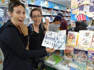 Quoi? Une BD québecoise dans un magasin de manga??