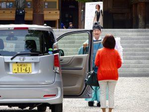 Bénédiction automobile pour la sécurité