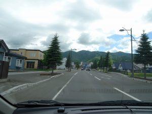 La route vers Furano
