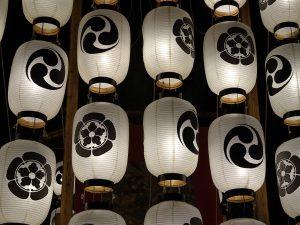 Lanternes de char