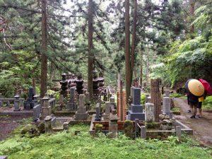 Cimetière à KoyaSan