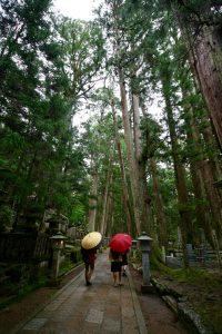 Koya San, le cimetière