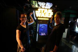 Arcade de Starwars avec vue presque 360!